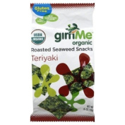 GimMe Organic Roasted Seaweed Snacks Teriyaki -- 10ml