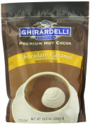 Ghirardelli Hot Chocolate Pouch, Caramel, 310ml