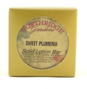 Northridge Gardens Sweet Plumeria Solid Lotion Bar 30ml