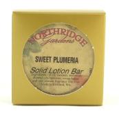 Northridge Gardens Sweet Plumeria Solid Lotion Bar 30ml