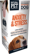 Natural Pet Pharmaceuticals by King Bio Anxiety and Stress Control for Dog, 120ml