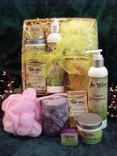 Natural Skin Care Luxurious Spa Quality Gift Basket for Women