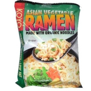 KOYO Reduced Sodium Asian Vegetable Ramen Made with Organic Noodles, 60ml