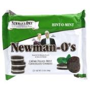 Newman's Own Organics Newman O's Cookies Mint Creme -- 380ml