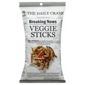 The Daily Crave Veggie Sticks