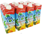 Vita Coco - Coconut Water 500 ml. Peach & Mango - 17 oz.