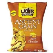 Udi's Gluten Free Crisps Cheddar