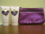 Vera Wang Princess for Women Satiny Body Lotion 70ml(2 Pack) Plus FREE COSMETIC BAG