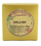 Northridge Gardens Vanilla Mint Solid Lotion Bar 30ml