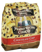 Newman's Own Organics Family Recipe Cookies Chocolate Chip -- 210ml