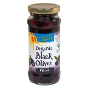 Mediterranean Organic Ripe Pitted Black Olives -- 240ml