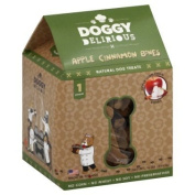 Doggy Delirious Natural Dog Treats Apple Cinnamon Bones -- 470ml