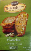 Nonni's Pistachio Almond Thins 1 Box 130ml
