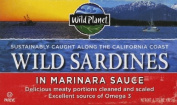 Wild Planet Wild Sardines in Marinara Sauce -- 130ml