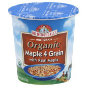 Dr. McDougall's Right Foods Organic Maple Oatmeal Cups, 70ml Cups