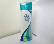 MISTINE WHITE SPA WHITE FIRM WHITENING LOTION Enrich with L- Canitine and Alpha Arbutin for body shape 200 ml.