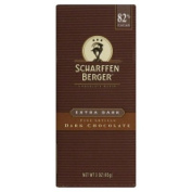 Scharffen Berger Dark Chocolate Bar 82% Cacao Extra Dark -- 90ml