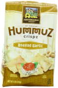 Mediterranean Snack Hummuz Crispz Snack, Roasted Garlic, 120ml