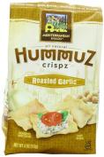 Mediterranean Snack Hummuz Crispz Snack, Roasted Garlic, 120ml