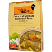Kitchens Of India Palak Paneer Spinach With Cottage Cheese And Sauce