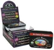 St. Claire's - Licorice Sweets - (Sleeve of Tins), 12 Units / 45ml