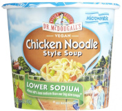 Dr. McDougall's Soup Cup Low Sodium Chicken Noodle -- 40ml