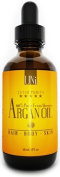 UNi 100% Organic Pure Moroccan Argan Oil, TRIPLE Extra Virgin Grade, FAST ABSORBING, Certified Organic - for Hair and Skin Care Treatment - Cold Pressed EcoCert and USDA Approved Oil. Treat Dry Scalp, Nails, Cuticles. Excellent Daily Moisturiser. Anti- ..