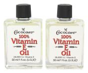CocoCare 100% Vitamin E Oil - 30ml - Pack of 2