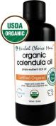 Herbal Choice Mari Organic Calendula Oil 100ml/ 3.4oz Bottle