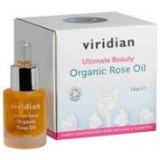 Viridian Ultimate Beauty Organic Rose Oil - 15Ml