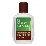 100% Pure Tea Tree Oil by Desert Essence 60mls