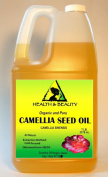 Camellia/Camelia Seed Organic Carrier Oil Cold Pressed 100% Pure 3790ml, 7 LB, 1 gal