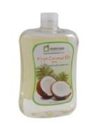 Cold press coconut oil 100% 500cc.