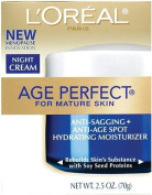 L'Oreal Skin Expertise Night Creme Age Perfect for Mature skin Anti-Sagging And Anti-Age Spot Hydrating Moisturiser...
