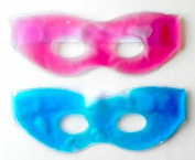 Soothing Therapeutic Gel Eye Masks-Hot or Cold-Travel-Headache Stress Reliever