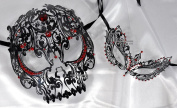 Lovers Collection Men Women Couple Red R10 Combo Cut Venetian Masquerade Mask Event Party Ball Mardi Gars