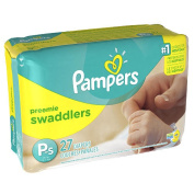 Pampers Swaddlers Preemie Nappies Jumbo Pack - 27 Count