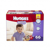 Huggies Little Movers Size 5 Super Pack - 66 Count
