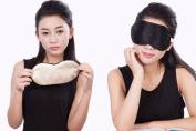 Silk Eye Mask Eye Shade with Earplugs For travel and sleep