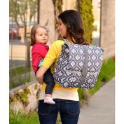 JJ Cole backpack in Grey Floret