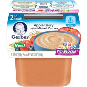 Gerber 2nd Foods Apple Berry Cereal 2-Pack