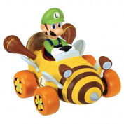 Super Mario Coin Racers Series 1 Luigi Figure