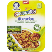 Gerber Graduates Lil Entrees Spiral Pasta in Turkey Meat Sauce with Green & Yellow Beans