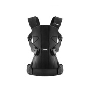 BabyBjorn Baby Carrier One - Black, Cotton Mix