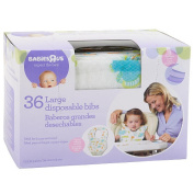. 36 PK Disposable Large Bibs