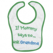 Koala Baby If Mommy Says No, Ask Grandma Bib
