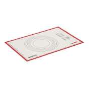 Cake Boss Countertop Accessories 60cm  X 40cm  Silicone Baking Prep Mat - White