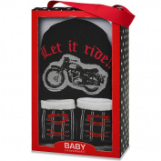 Baby Essentials Boys Cap and Sock Set - Let it Ride