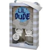 Baby Essentials Boys Cap and Sock Set - Lil Dude