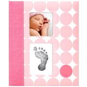 Pearhead Babybook-Pink Dots